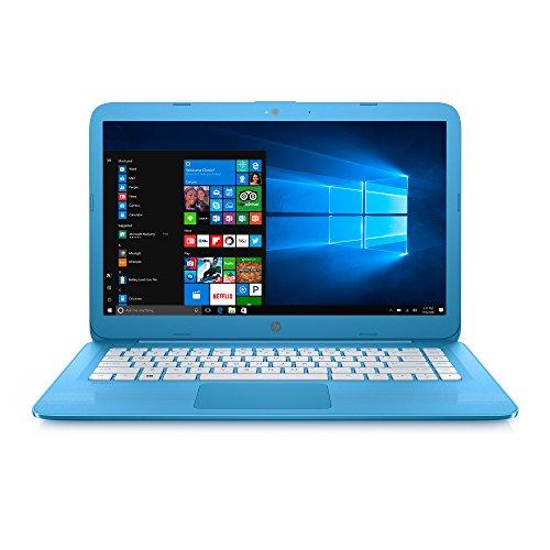 HP Stream Laptop PC – 14″ HD, Intel Celeron N3060, 4 GB RAM, 32 GB eMMC, Office 365 Personal for one year – 14-ax010nr