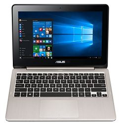 ASUS VivoBook Flip TP200SA-DH01T 11.6 inch display Thin and Lightweight 2-in-1 HD Touchscreen Laptop, Intel Celeron 2.48 GHz Processor, 4GB RAM, 32GB EMMC Storage, Windows 10 Home