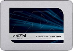 Crucial MX500 500GB 3D NAND SATA 2.5 Inch Internal SSD – CT500MX500SSD1(Z)