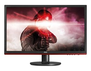 "AOC G2460VQ6 24"" Gaming Monitor, FreeSync, FHD (1920×1080), TN Panel, 75Hz, 1ms, DisplayPort, HDMI"