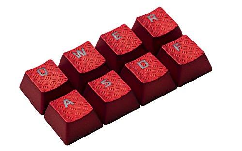 HyperX FPS & MOBA Gaming Keycaps Upgrade Kit (Red) – HXS-KBKC1