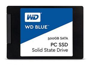 Western Digital WD Blue SSD interne 500 Go – SATA 6 Gbit/s 2,5″