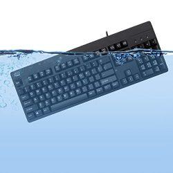 Adesso Easy touch 630Ub, Antimicrobial Waterproof Keyboard (AKB-630UB)