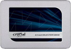Crucial MX500 250GB 3D NAND SATA 2.5 Inch Internal SSD – CT250MX500SSD1