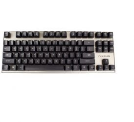 Nixeus Moda v2 Compact Mechanical Switch, Clicky Tactile Bump Feedback Keyboard for Windows & Mac (MK-BL15)