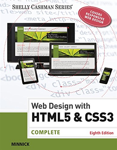 Web Design with HTML & CSS3: Complete (Shelly Cashman Series)