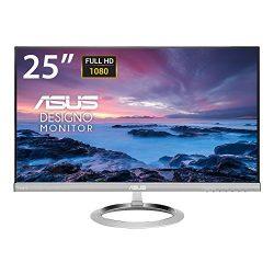ASUS MX259H 25-Inch, Full HD 1920×1080 IPS, Audio by Bang & Olufsen ICEpower HDMI VGA Frameless Monitor