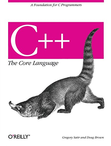 C++ The Core Language: A Foundation for C Programmers (Nutshell Handbooks)