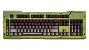Das Keyboard X40 Mechanical Gaming Keyboard Aluminum Top Panel Only, Stryker, Olive (DKDIVZX40TPSTKOLV)