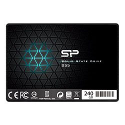 Silicon Power 240GB SSD 3D NAND S55 TLC 7mm (0.28″) Internal Solid State Drive (SP240GBSS3S55S25AE)
