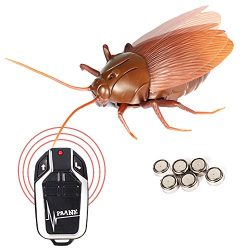 Remote Control Cockroach Realistic Prank Cockroach No Lights and Quivering Wings Prank Toys
