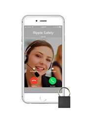 Ripple 24/7 Personal Safety Monitoring. Never panic: our tiny button quickly sends GPS life alerts in emergencies (e.g, medical). Device includes 1 free month of professional 24/7 security dispatch.