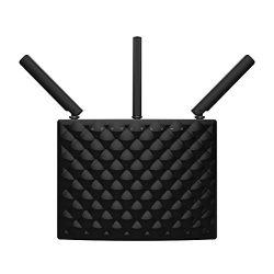 Tenda AC15 AC1900 Wireless Wi-Fi Gigabit Smart Router, Black