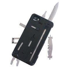 TaskOne G3 Pro – Multi Tool Utility Case for iPhone 5/5S – Black Trim