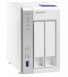 Qnap TS-231P-US Personal Cloud NAS with DLNA, mobile apps and Airplay support. ARM Cortex A15 1.7GHz Dual Core, 1GB RAM