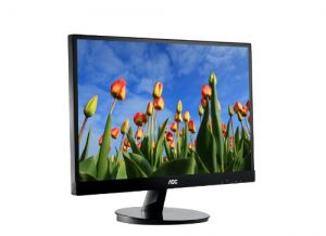 AOC i2769Vm 27-Inch Screen IPS Frameless LED-Lit Monitor, Full 1080p, 5ms, 50M:1 DCR, VGA / (2)HDMI, MHL / Display Port, Speakers, VESA