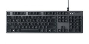 Logitech K840 Mechanical Keyboard with Romer G Mechanical Switches for PC