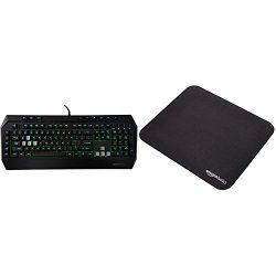 AmazonBasics Gaming Keyboard and Mouse Pad Bundle