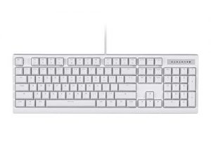 Monoprice Brown Switch Full Size Mechanical Keyboard – White   Ideal for Office Desks/Workstations/ Tables – Workstream Collection