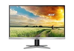 Acer G247HYU smidp 23.8-inch IPS WQHD (2560 x 1440) Monitor (Display Port, HDMI Port & DVI Port)