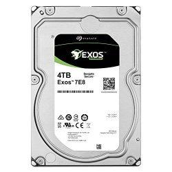 Seagate Exos 7E8 4TB 512n SATA 128MB Cache 3.5-Inch Enterprise Hard Drive – Frustration Free Packaging (ST4000NM0035)
