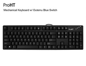 Inland 104 Keys Mechanical Keyboard with Blue Switch (70012)