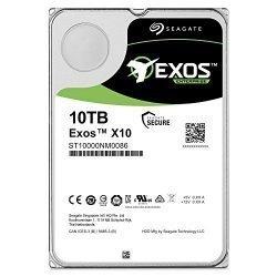 Seagate Exos x10 10TB SATA 6Gb/s 256MB Cache Enterprise Hard Drive 3.5″ (ST10000NM0086)