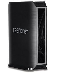 TRENDnet AC1750 Dual Band Wireless AC Gigabit Router,2.4GHz 450Mbps+5Ghz 1300Mbps,USB Share Port,IPv6,Guest Network, TEW-823DRU