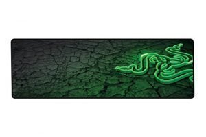 Razer Goliathus Control Fissure: Light Friction Surface – Anti-Fraying Stitched Frame – Portable Cloth-Based Design – Extended Precision Cloth Gaming Mat