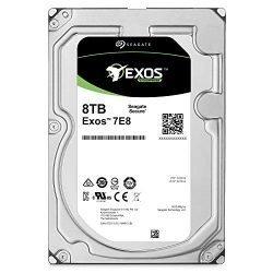 Seagate Exos 7E8 8TB 512e SATA 256MB Cache 3.5-Inch Enterprise Hard Drive – Frustration Free Packaging (ST8000NM0055)
