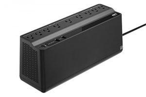 APC UPS Battery Backup & Surge Protector with USB Charger, 850VA, APC Back-UPS (BE850M2)