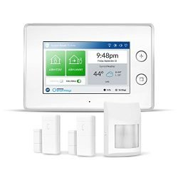 Samsung SmartThings ADT Wireless Home Security Starter Kit with DIY Smart Alarm System Hub, Door and Window Sensors, and Motion Detector – Alexa Compatible (Zigbee, Z-Wave, IP Network Protocols)
