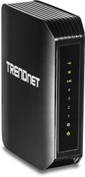 TRENDnet Wireless AC1200 Dual Band Gigabit Router with USB Share Port, TEW-811DRU
