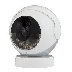 Kidde RemoteLync Cordless Wireless Security Camera, White