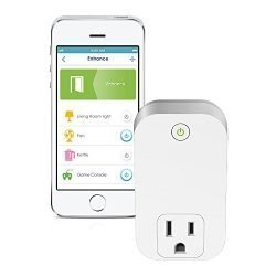 D-Link Smart Plug, Wi-Fi, On/Off, Works with Alexa and Google Assistant (DSP-W110)