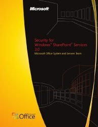 Security for Windows® SharePoint® Services 3.0
