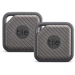 Tile Sport – Key Finder. Phone Finder. Anything Finder (Graphite) – 2 Pack