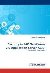 Security in SAP NetWeaver 7.0 Application Server ABAP: Securability assessment