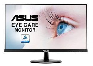 """ASUS VP249HE 23.8"""" Monitor Full HD IPS HDMI VGA with Eye Care"""