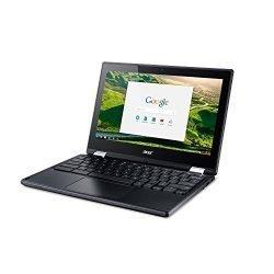 Acer C771T-C1WS Chromebook with Intel Celeron 3855U, 4GB 32GB eMMC