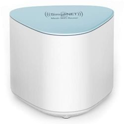 SimpliNET2 Whole Home AC2100 Mesh WiFi Router with Firewall Network Defense