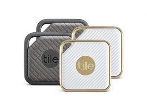 Tile Combo Pack – Key Finder. Phone Finder. Anything Finder (2 Tile Sport and 2 Tile Style) – 4 Pack