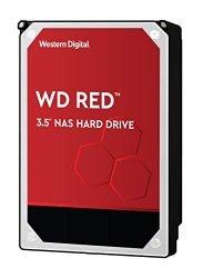 WD Red 10TB NAS Hard Drive – 5400 RPM Class, SATA 6 Gb/s, 256 MB Cache, 3.5″ – WD100EFAX