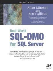 Real-World SQL-DMO for SQL Server
