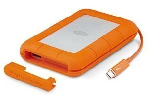 LaCie Rugged Thunderbolt USB 3.0 2TB External Hard Drive Portable HDD (STEV2000400)