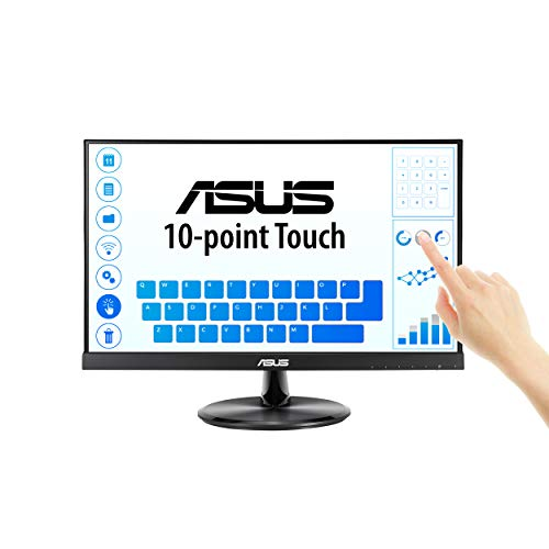 ASUS VT229H 21.5″ Monitor 1080P IPS 10-Point Touch Eye Care with HDMI VGA