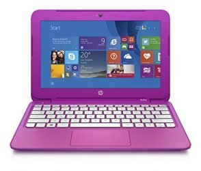 HP Stream 11.6-Inch Laptop Intel Celeron, 2 GB, 32 GB SSD, Orchid Magenta Includes Office 365 Personal for One Year (Discontinued)