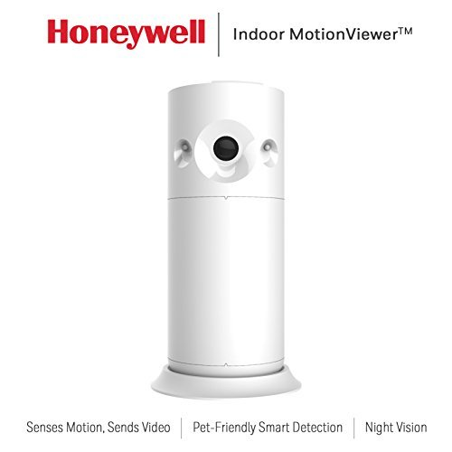 Honeywell RCHSIMV1 Smart Home Security Indoor MotionViewer, White
