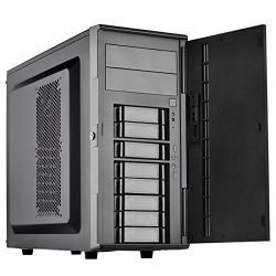 SilverStone Technology SST-CS380B-USA DIY ATX NAS/Server Storage Computer Case with 8 Front Hot Swap Cases CS380B-USA Cases