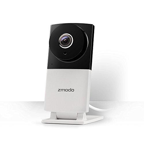Zmodo Sight 180 C 180° Wide Viewing Angle 1080p Full HD Wireless Security IP Camera Night Vision and Two Way Audio – Cloud Service Available